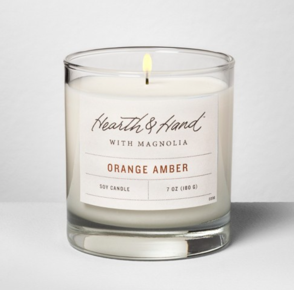 orange amber : hearth & hand