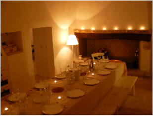 italy dining room