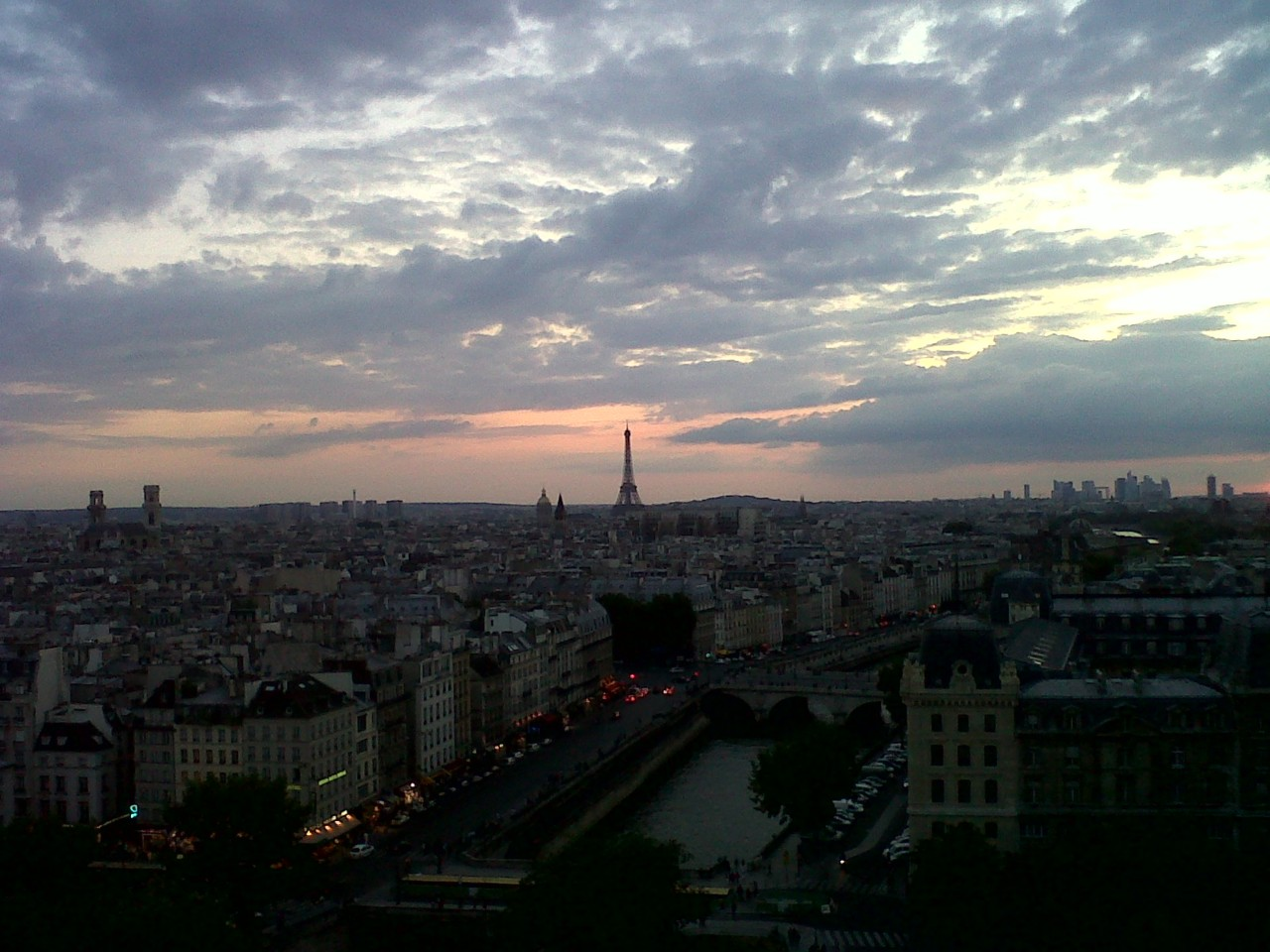 Missing the long Paris days.  This was taken at 10pm!!