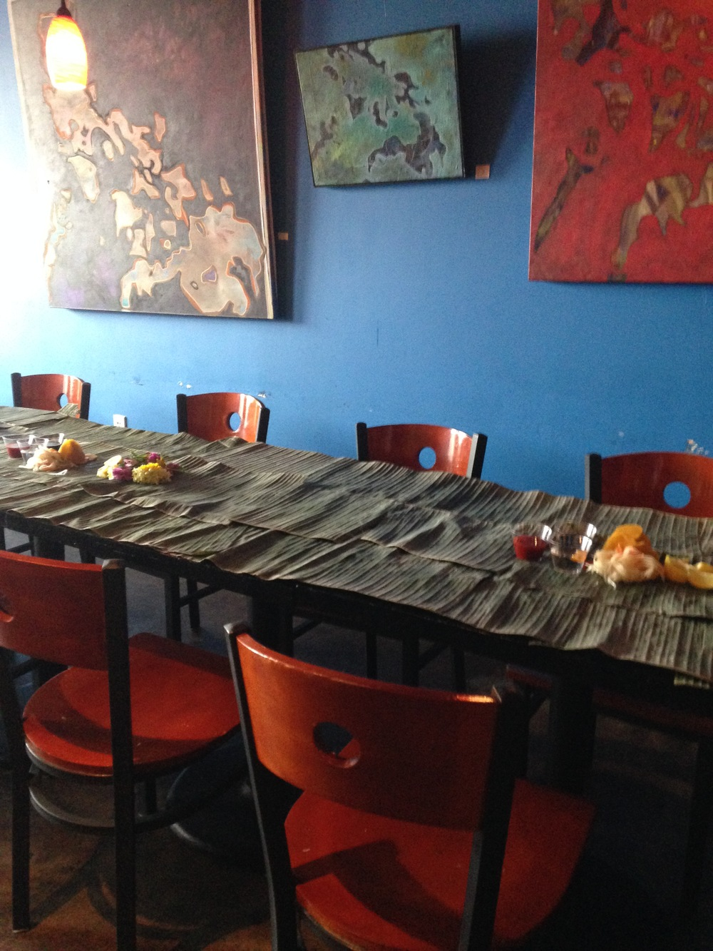 Kamayan Dinner ReservationsAvailable