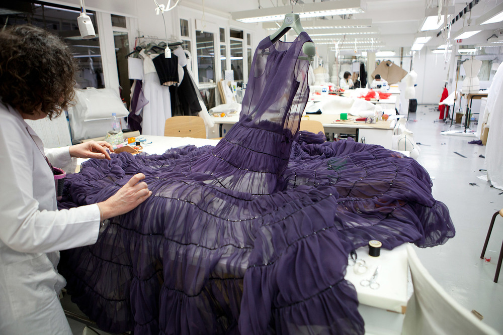Making of Christian Dior Couture