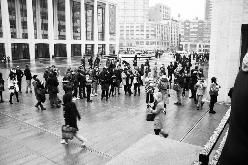 Bloggers durante New York Fashion Week