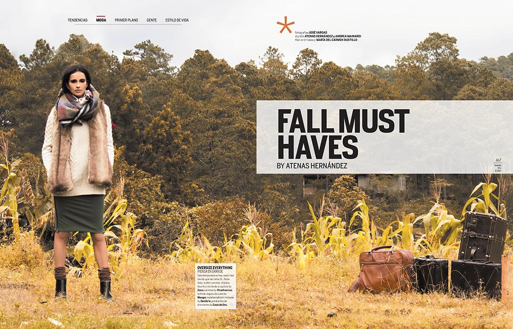 Produccion & Fotografias Editorial Revista Estilo