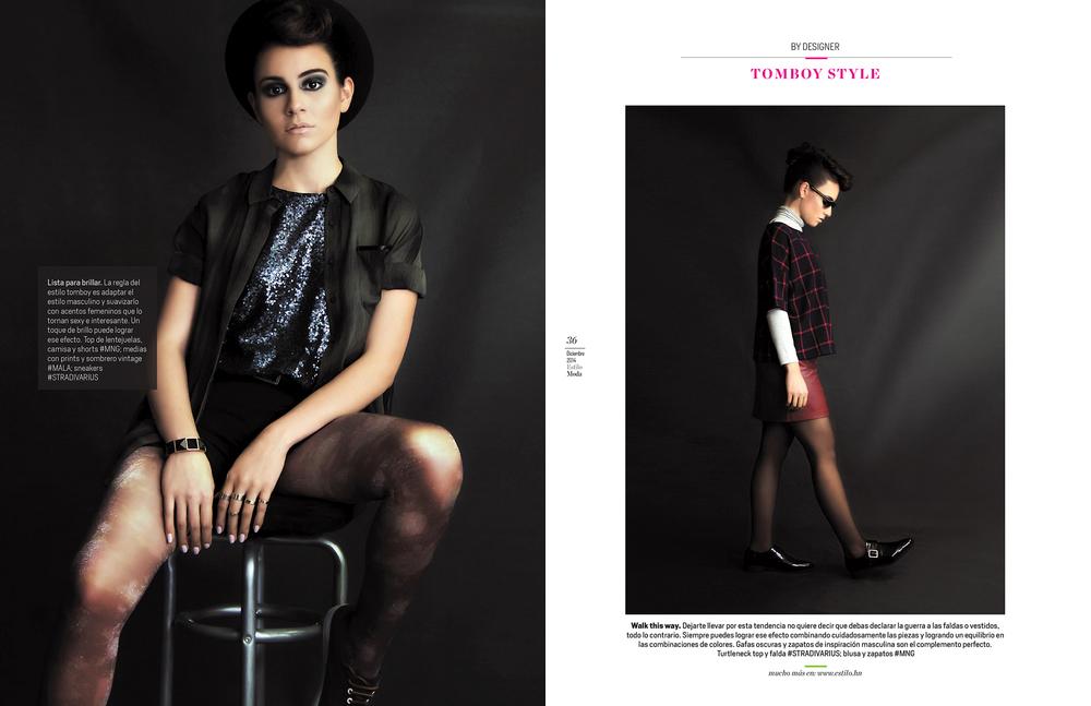 Produccion & Fotografias Editorial Edicion Estilo Moda