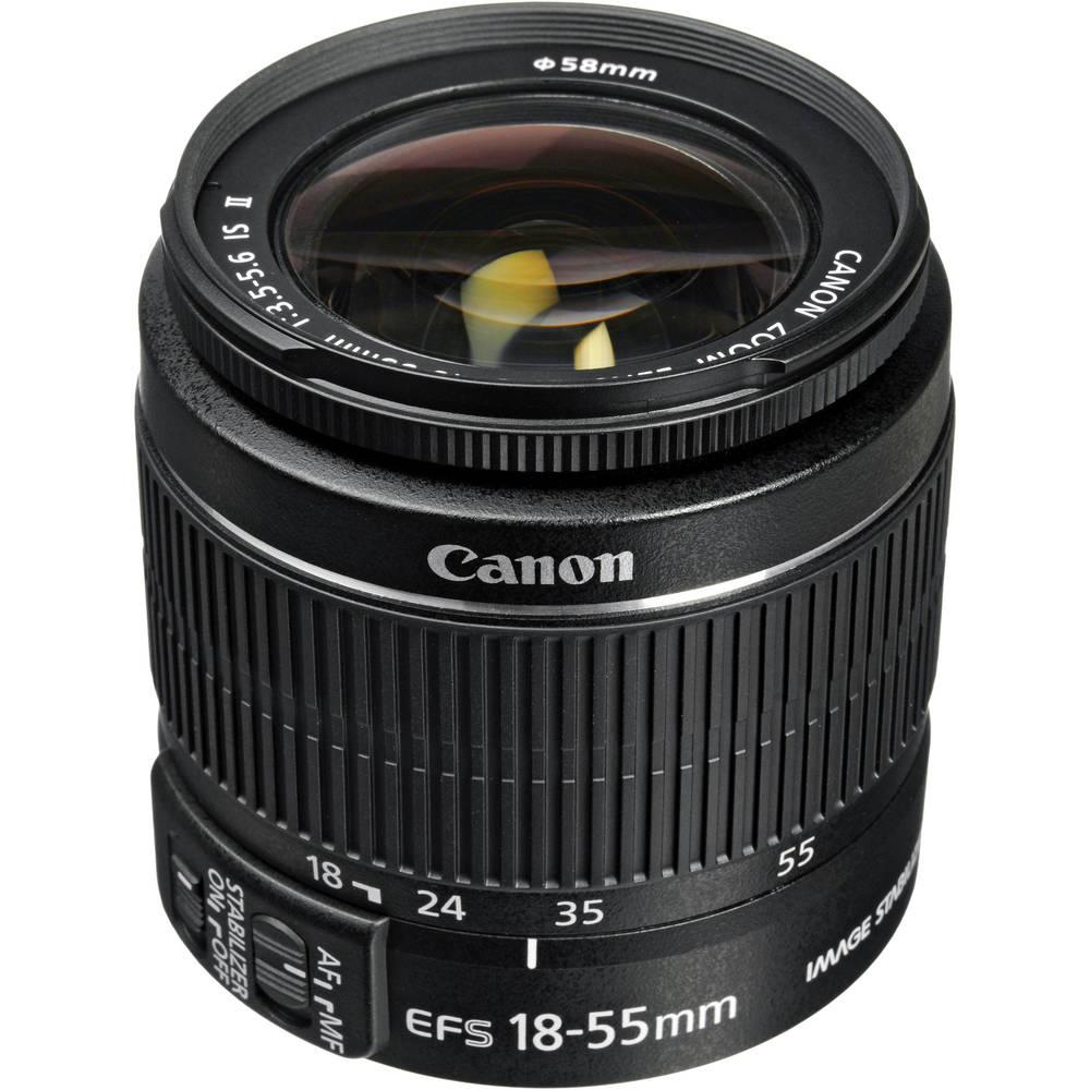 Lente canon 55-18