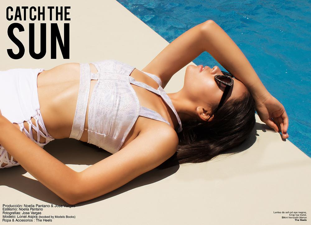 Cath the sun editorial