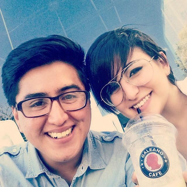 Con Caroline Mahomar