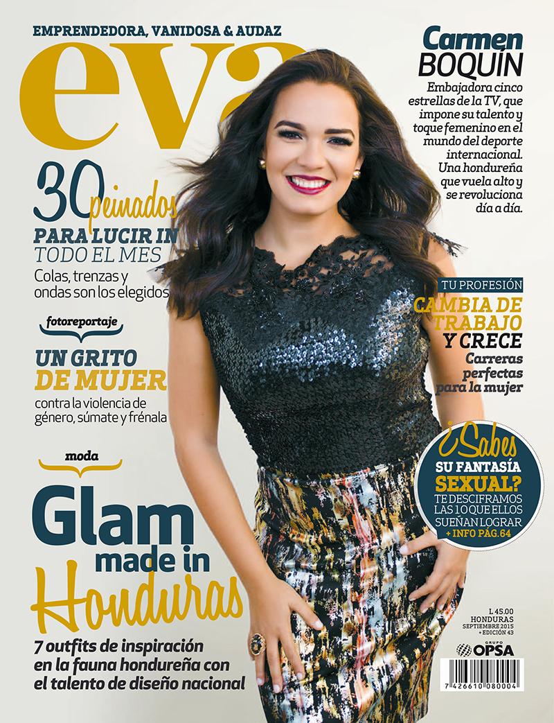 Portada para Revista EVA