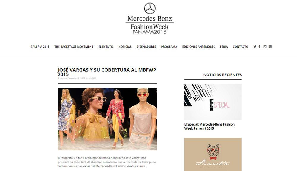 Invitado Especial de Panama Fashion Week