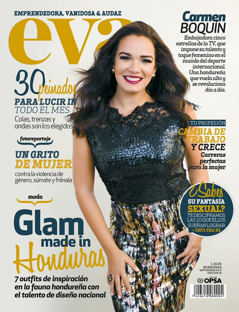 Fotografia de portada para Revista EVA