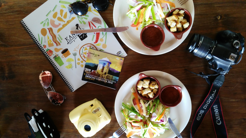 Almuerzo en Kandil