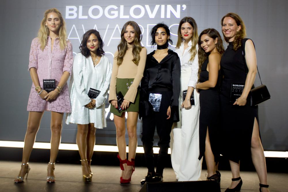 GANADORAS DE LOS BLOGLOVIN' AWARDS'16