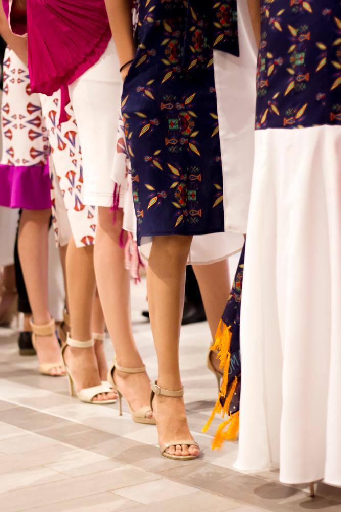 Backstage gladys gonzales moda honduras jose vargas blog blgger fashion nicaragua diseña modelos pasarela semana de la moda