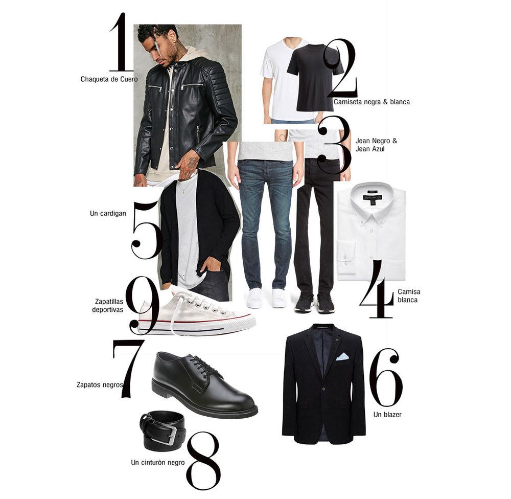 basic wardrobe fashion menswear menstyle moda en honduras jose vargas fashion blog blogger street style closet armario básicos