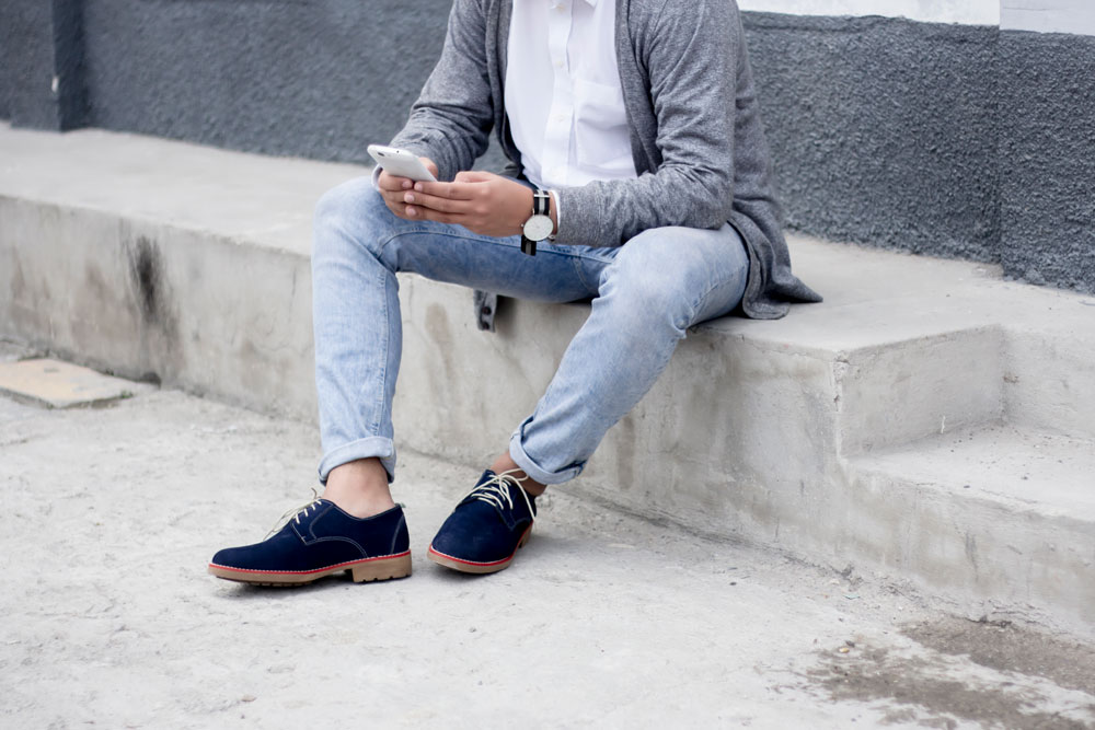 blue suede shoes walls leather fashion men blog street style molda honduras jose vargas style street style moda blog blogger style