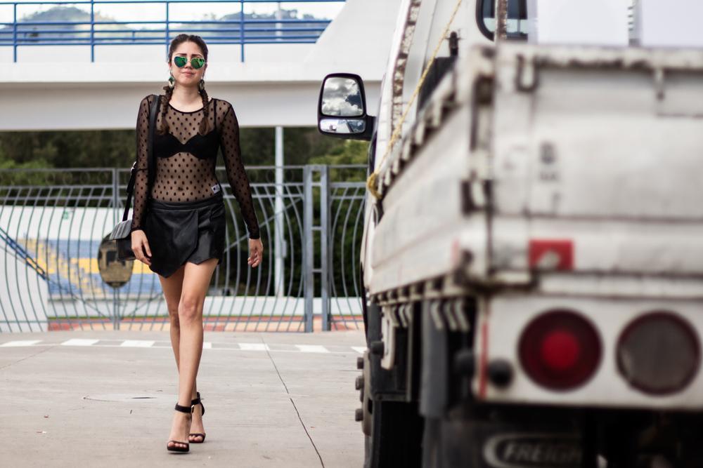 Street Style Confluencias Fashion Show