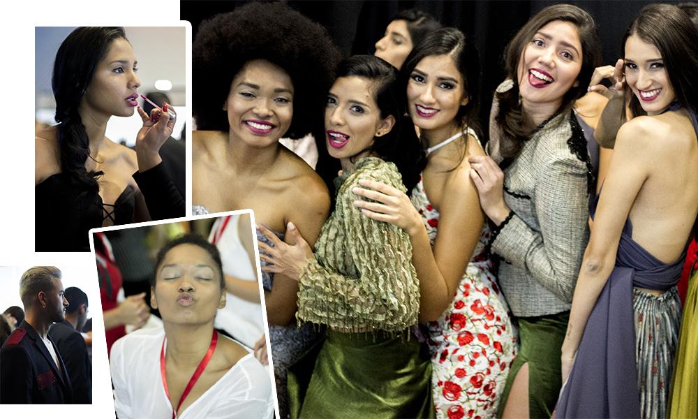 BACKSTAGE ESTILO MODA`17 - Fotografias del backstage en Estilo Moda`17
