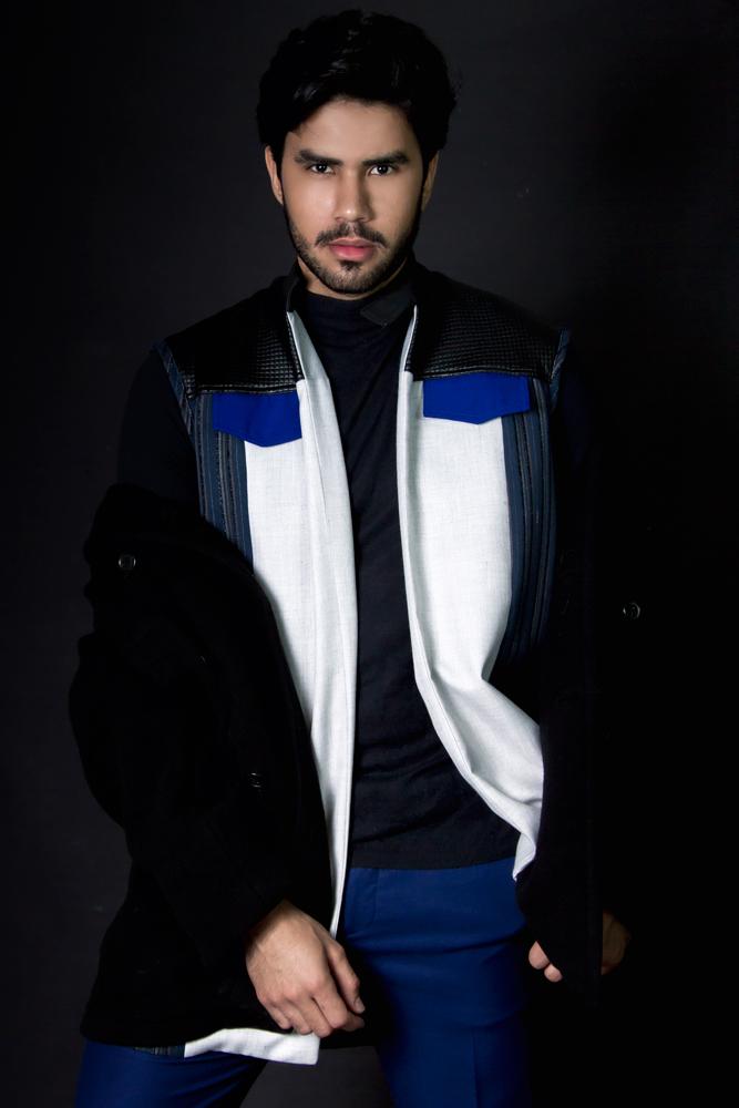 Chalecos Unicos - Chaleco Jerry CarcamoCamisa H&MAbrigo Calvin KleinPantalon Zara