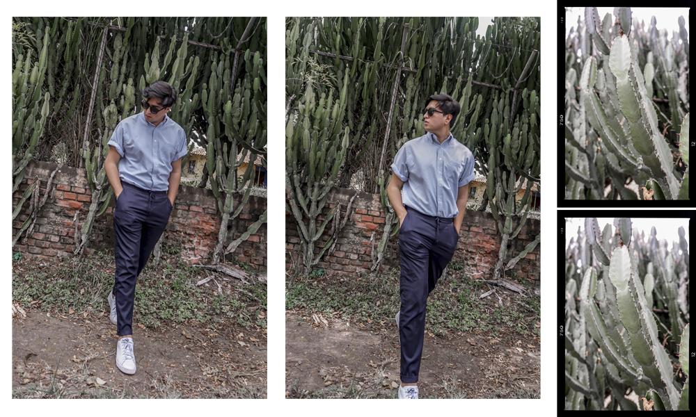 Camisa  GAP,  Pantalón  ZARA