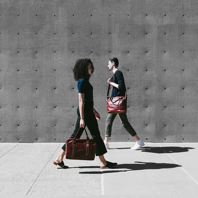 The Bordeaux Briefcase and Tote. Made for him and her.  Shop now. #withage