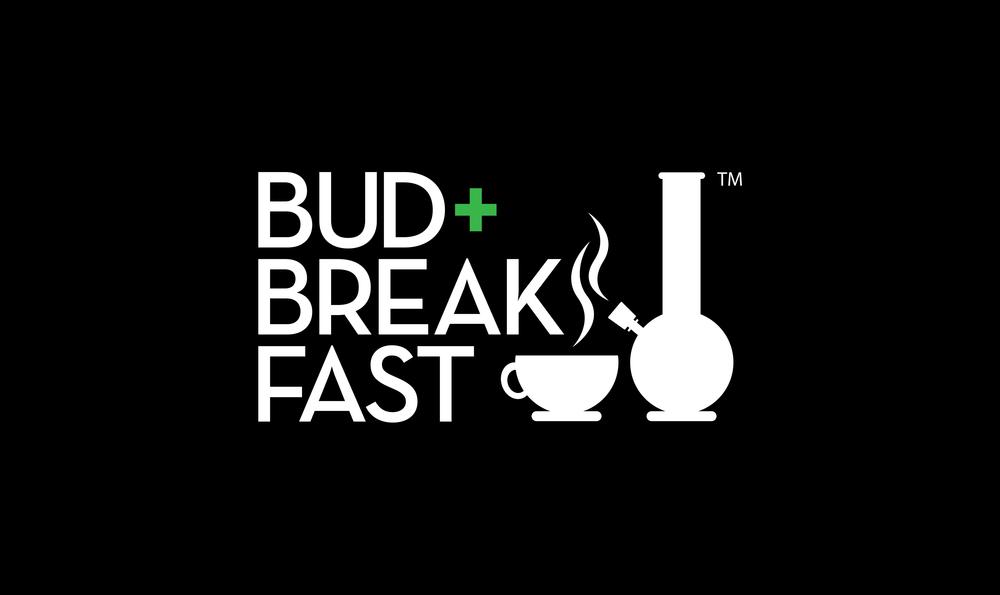 The Bud+Breakfast™ logo, created by freelance graphic designer, Adam Jeffers.