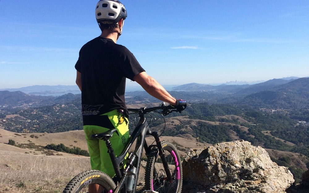 Mountain Biking Marin guided ride stunning views