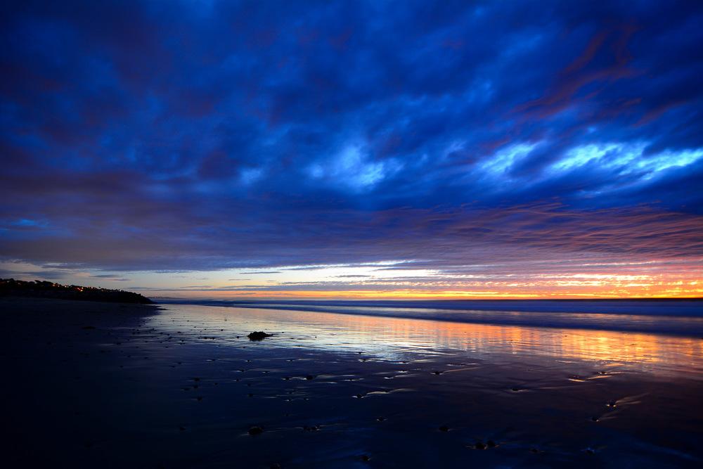 Sunset photo hunting on the coast