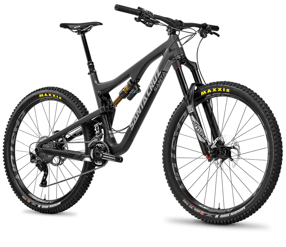 Santa Cruz Bronson Carbon Full Suspension Bike