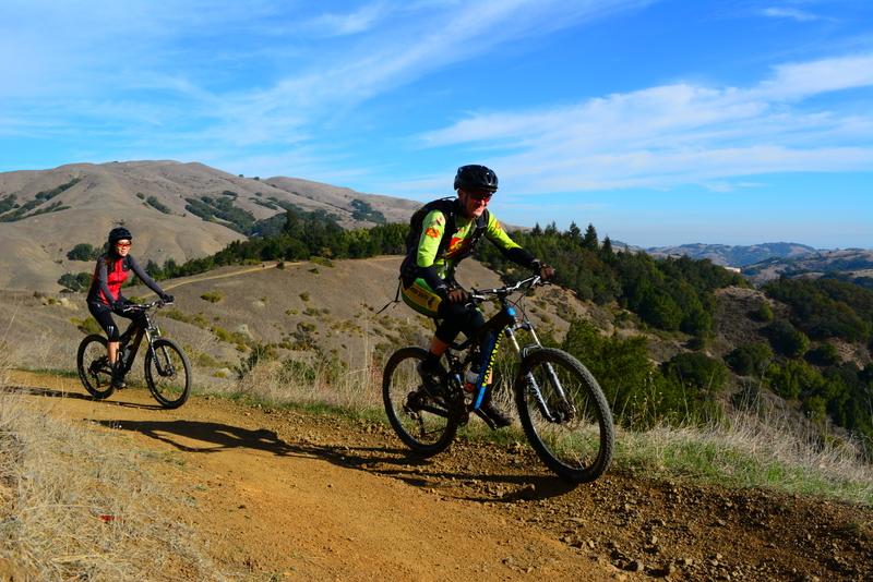 Marin County Mountain Bike Tour Santa Cruz Bikes Bronson