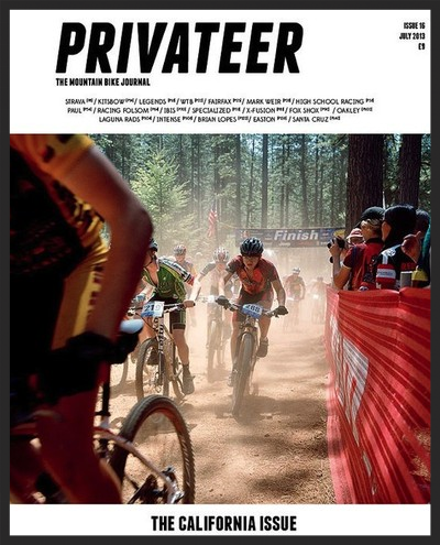 Mountain Biking San Francisco Marin guided tour Privateer Magazine Press