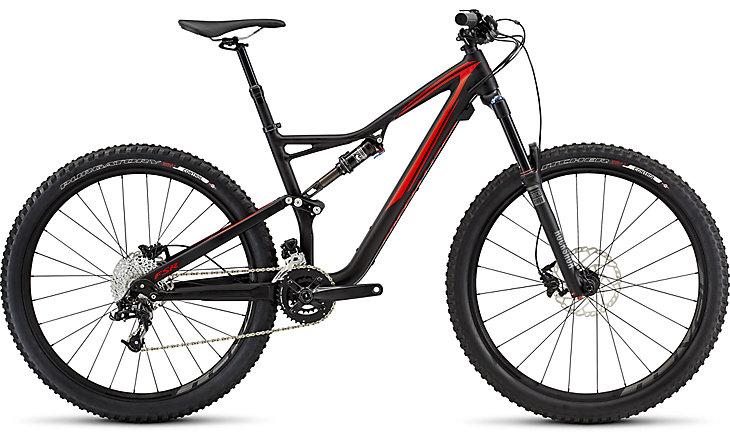 Specialized Stumpjumper FSR 650b Aluminun rental bike