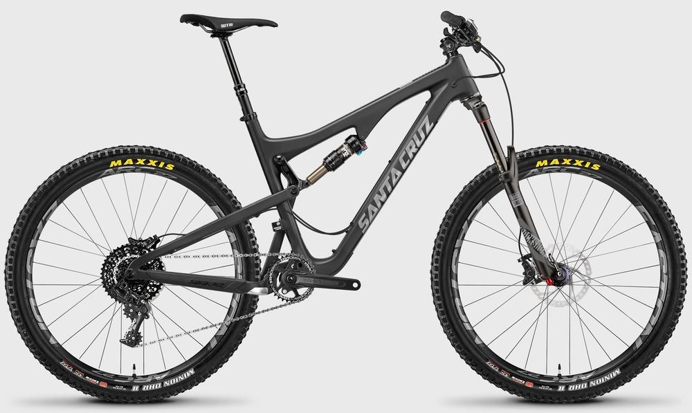 Santa Cruz Bronson Carbon C SAM kit fox float, Rockshox Pike rental bike