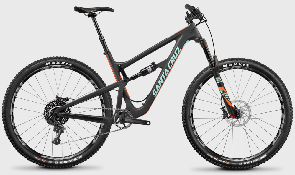 Santa Cruz Hightower Carbon S kit rental bike