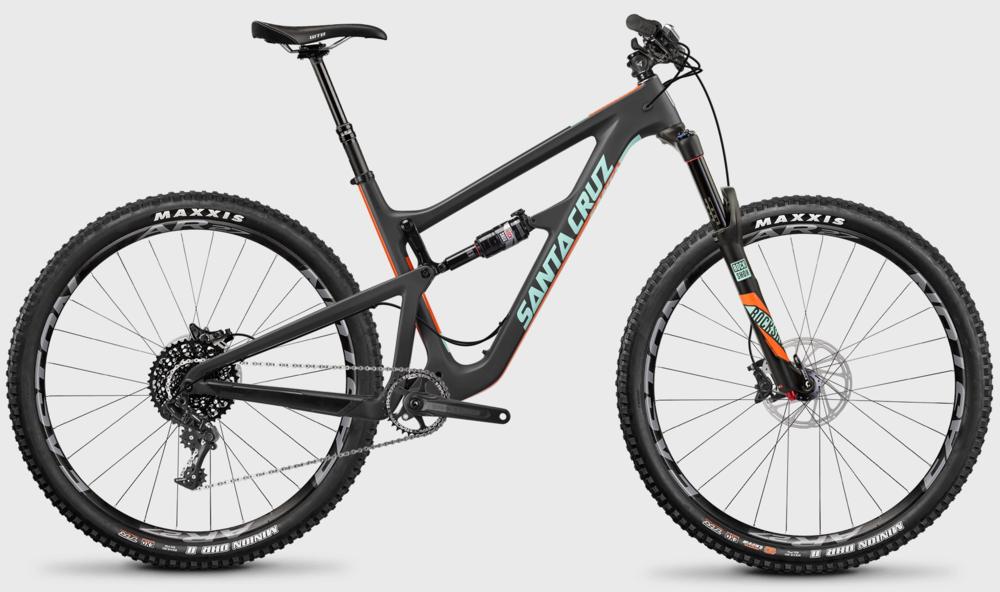 Santa Cruz Hightower Carbon S kit rental bike