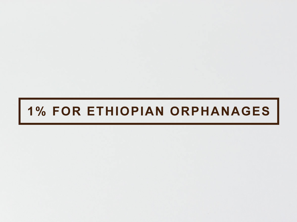 1% For Ethiopian Orphanages