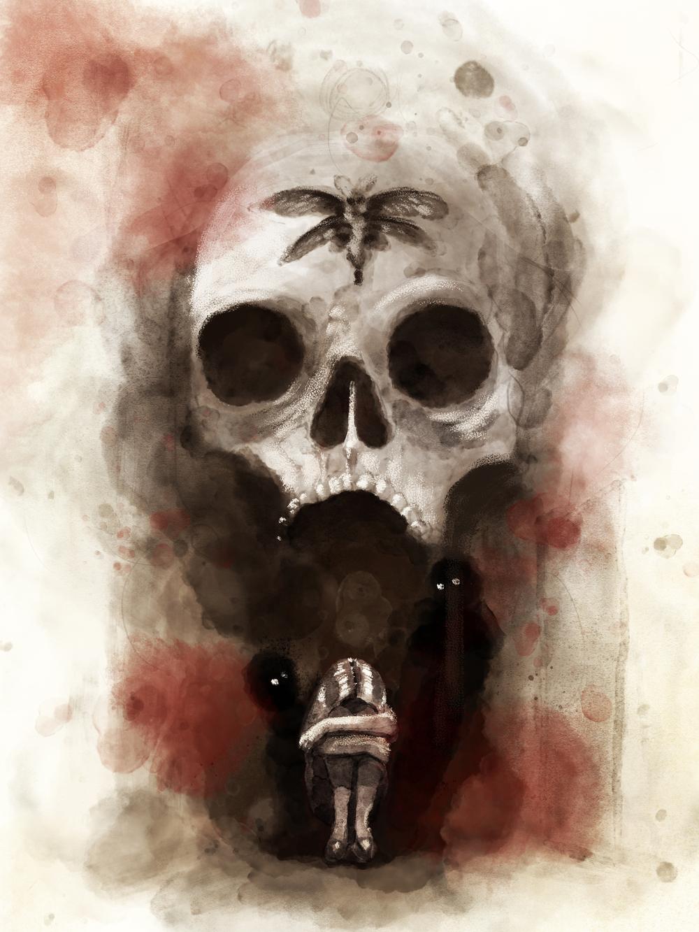 Silent Hill Book Cover Design