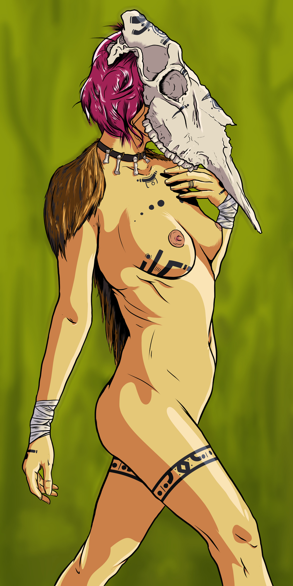 Swamp Huntress