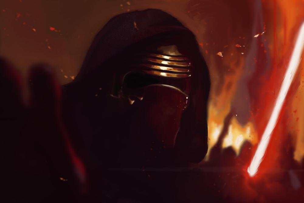 Kylo Ren:  Star Wars Study