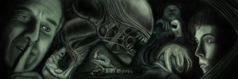 Alien Covenant David Ripley Xenomorph