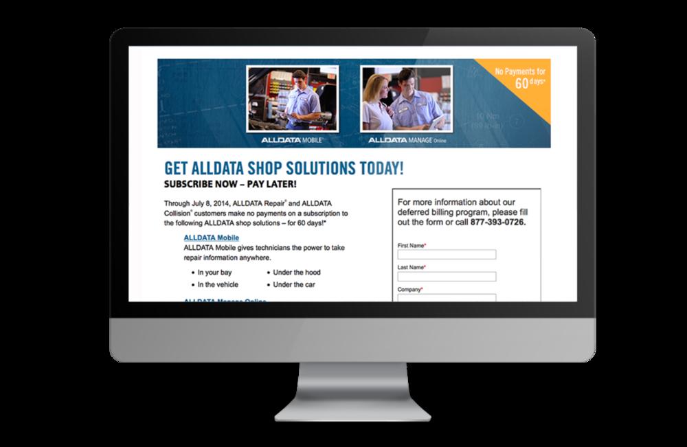 alldata manage online login