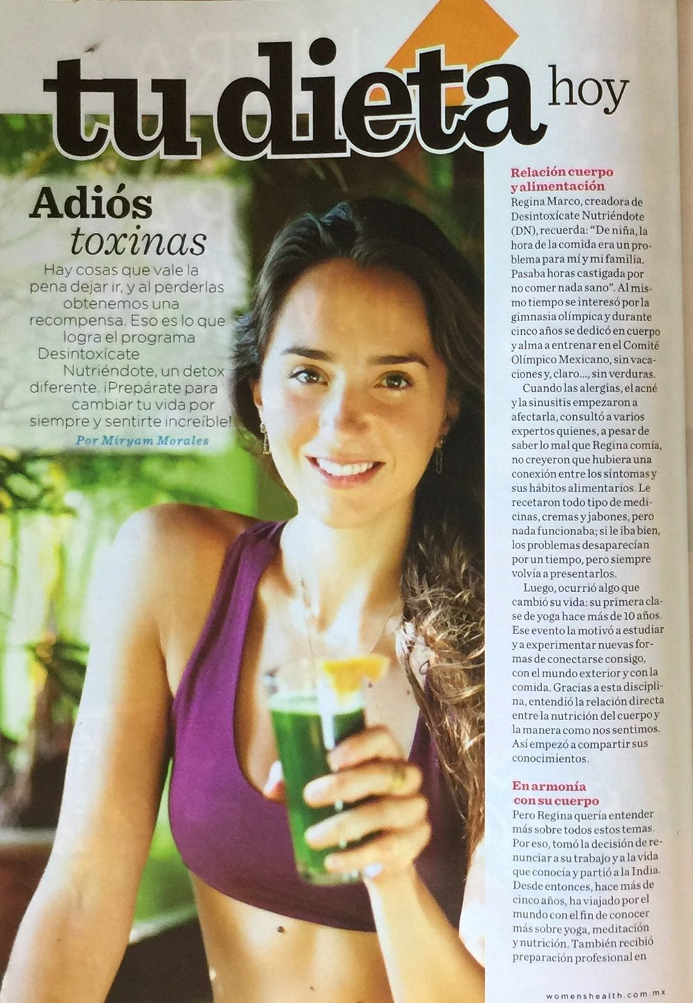 "Revista ""Women´s Health"""
