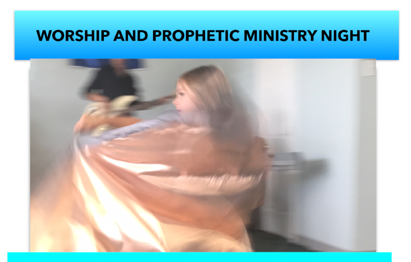 Community Worship and Prophetic Ministry Night