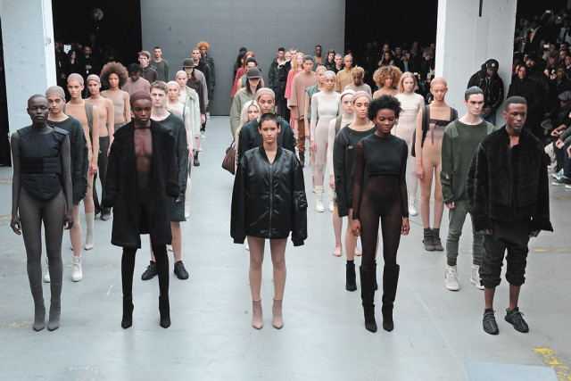 Kanye West Yeezy x Barneys New York Collaboration 2013  Photo: WWD Magazine