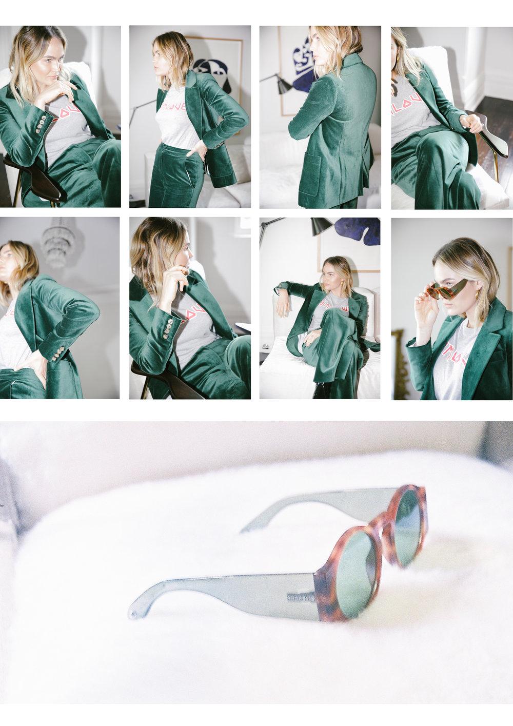 Brooke Testoni / Green Velvet