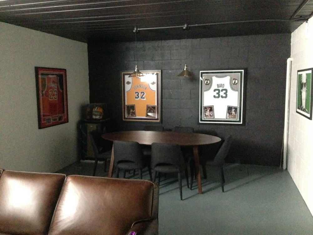man's cave personal memorabilia 6 perfectly hung.JPG