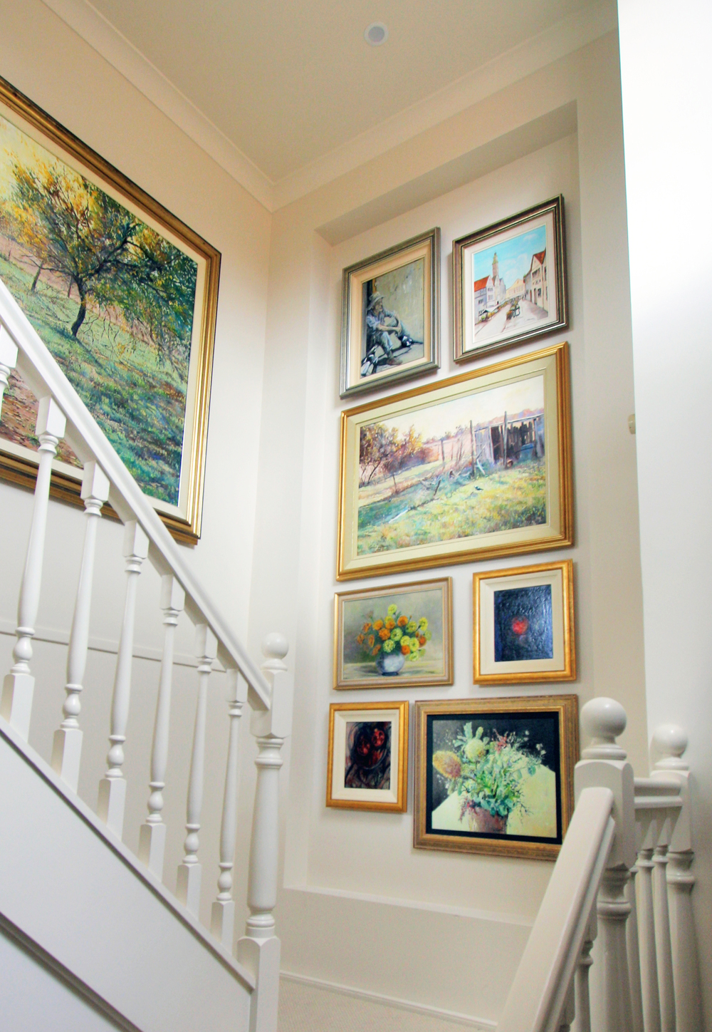 art installations & picture hanging