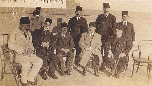 Mehmet Akif Ersoy, Halil Paşa ve arkadaşları.