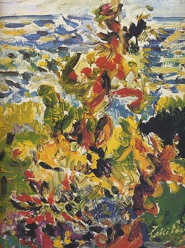 Büyükada'da Poyrazlı Gün, 1969. Tuval üzerine yağlı boya, 45x38 cm