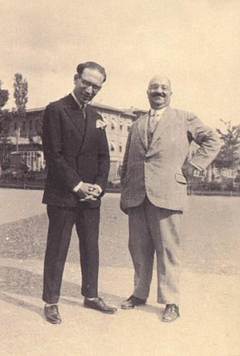 Şevket Dağ. Hasan Vecih 1929 (Büyük Millet Meclisi bahçesindeki sergide).