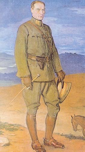 Prof. Arthur Kampf, Atatürk, Çankaya Köşkü, 1927.